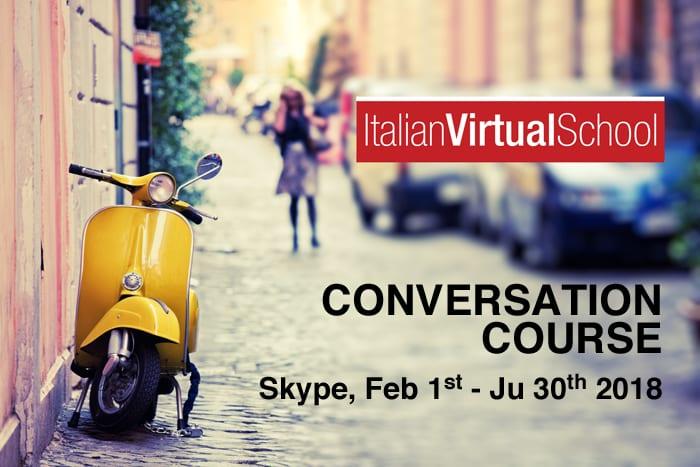 Italian Conversation Course on Skype